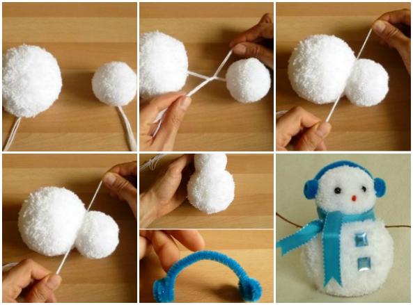 Boneco de neve.